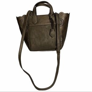 Miss Albright Crossbody Pewter colored Bag